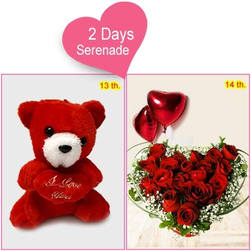 Gift Online 2-Day Serenade Gifts for Valentines Day