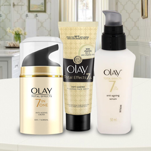 Elegant Assortment of Olay Skin Care Products