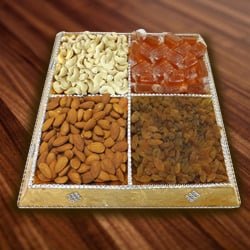 Scrumptious Dry Fruits Platter
