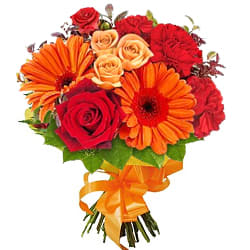 Send Online Bouquet of Seasonal Flowers