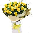 Pristine Floral Fantasia Yellow Roses Selection