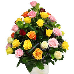 Gift Online Mixed Roses Bouquet