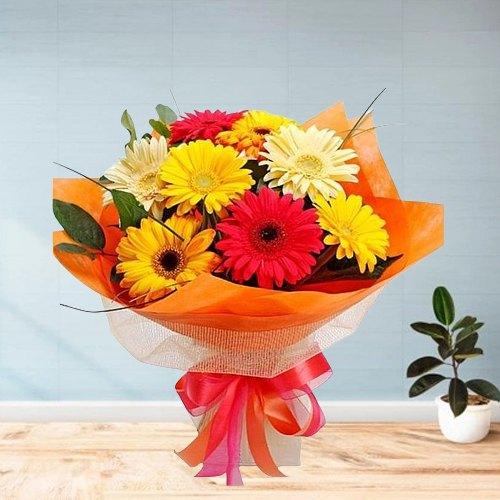 Online Bouquet of Pink Gerberas