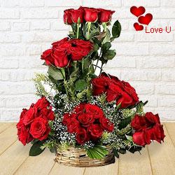 Spiritual Hypnotization Valentine's Day Rose Cluster