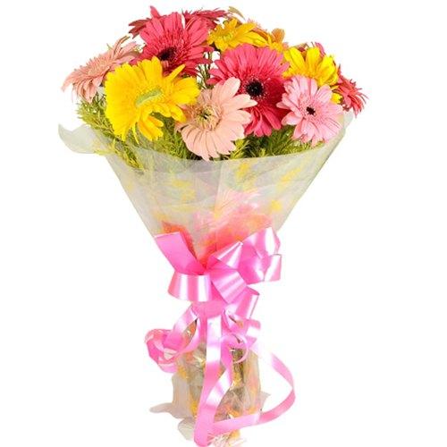 Deliver Online Gerberas Bouquet