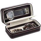 Genuine Leather Watch Case (for 2 watches) from Leather Talk