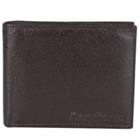 Elegant Brown Coloured Longhorn Gents Leather Wallet