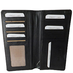 Stately Gents Leather Coat Wallet from Rich Born