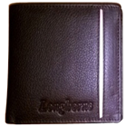 Exquisite Longhorn Leather Wallet for Men in Black Colour