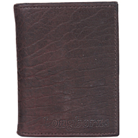 A Chic Mens Longhorns Leather Wallet