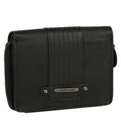 Stylish Titan Fastrack Brand Collection of Ladies Black Wallet