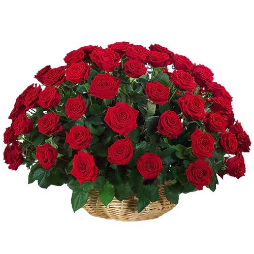 <u><font color=#008000> MidNight Delivery : </FONT></u>:51 Exclusive <font color =#FF0000> Dutch Red </font>   Roses  Arrangement