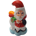 Delightful Ceramic Santa Showpiece
