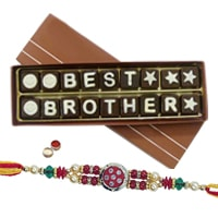 Yummy Pack of 18 pcs. Chocolate with Rakhi