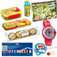 Admirable Assortment of Cartoon Rakhi Items