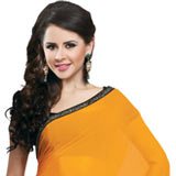 Adorning Multicolor Faux Georgette Saree