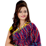 Arresting Georgette Printed Saree in Multicoloured Design