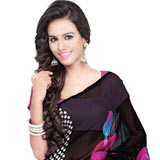 Zesty Georgette Saree