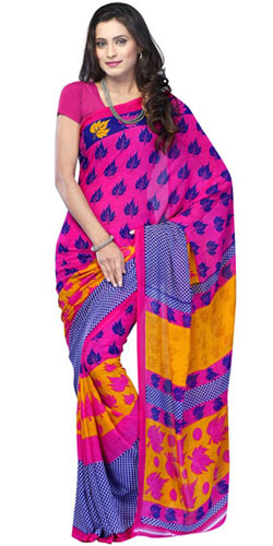 Modish Radiance Chiffon Saree