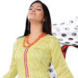 Refreshing Yellow Cotton Salwar Kameez