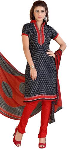 Gorgeous Women�s Favorites Printed Siya Salwar Suit