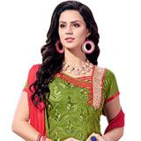 Smart Chanderi Printed Salwar Suit