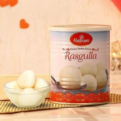 Exclusive 1kg Rosogolla from Haldiram on Auspicious Festival