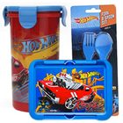 Delightful School Time Hot Wheels Tiffin Set