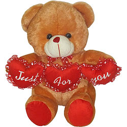 Sensational Tri Heart Bear