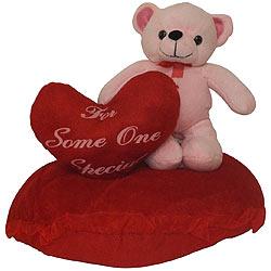 Ticklish 'Eric on Heart' Teddy of Romance