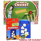 Provoking Funskool Cricket and Downfall Games