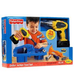 Wondrous Fisher-Price Drillin' Action Tool Set