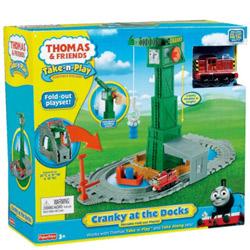 Entertaining Fisher-Price Thomas the Train Take-n-Play Set