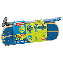 Classic Selection of Kids Fisher Price 3 in 1 Skate Board