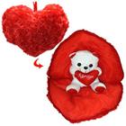 Splendid Teddy Bear in Heart with Essence of Romance