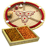Thali with Dry Fruits
