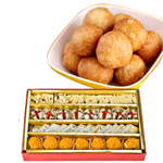 Mix Mithai And Kachori