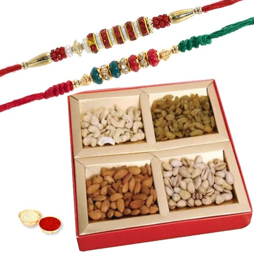 Twin Rakhi Fervent Festivity Pack