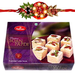Fantastic Rakhis, Haldirams Soan Papdi with Everlasting Joy