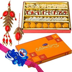 Lip-Smacking Cadbury Celebration and Haldiram Assorted Sweets with Love