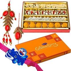 Lip-Smacking Cadbury Celebration and Haldiram Assorted Sweets with Love